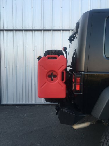 Jeep Jk Tailgate Mount