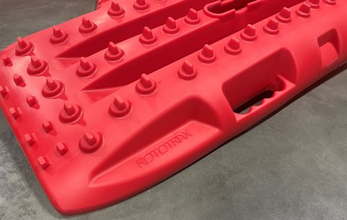 RototraX Traction Boards RED